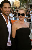 Niklas Soderblom and Nicollette Sheridan Stock Images