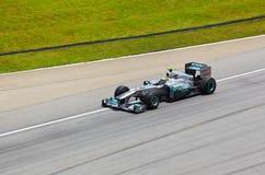 Niko Rosberg (team Mercedes Petronas) Stock Image