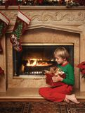 Niko's Christmas close-up Stock Photography