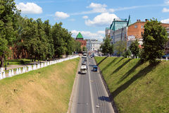 Nikol'skaya torn (Nicholas), Kreml, Nizhegorodskiy distri Fotografering för Bildbyråer