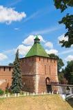 Nikol'skaya-Turm (Nicholas), der Kreml, Nizhegorodskiy-distri Stockbild