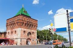 Nikol'skaya-Turm (Nicholas), der Kreml, Nizhegorodskiy-distri Lizenzfreies Stockfoto