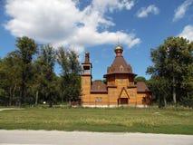 Nikol'skaya Church in the village of Usol'e Stock Photography