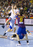 Nikola Karabatic in action Royalty Free Stock Image
