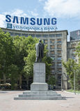 Nikola Pasic Monument in Belgrad Lizenzfreie Stockfotos