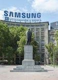 Nikola Pasic zabytek w Belgrade Zdjęcia Royalty Free