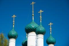 Nikola Rubleny Church in Yaroslavl Gouden Ring van Rusland Royalty-vrije Stock Foto's