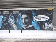 Nikola Tesla Stock Photo