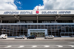 Nikola Tesla Airport, Belgrade, Serbia Stock Photography