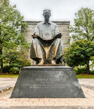 Nikola Tesla Monument - Niagara Falls, New York Royalty Free Stock Image