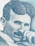Nikola Tesla-portret royalty-vrije stock afbeeldingen