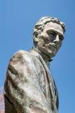 Nikola Tesla Sculpture in Niagara Falls, Canada Royalty Free Stock Images