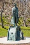 Nikola Tesla Sculpture in Niagara Falls, Canada Stock Images