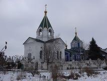 Nikolaev教会在Bahmut 免版税库存图片