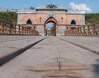 The Nikolaev gate. Stock Image