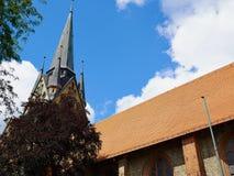 Nikolai Church  Flensburg Germany Stock Photography