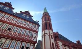 Nikolai Church in Frankfurt Royalty Free Stock Photography
