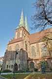The Nikolai Kirche in Berlin, Germany Royalty Free Stock Images