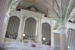 Nikolai kościół w Niemcy Leipzig Obraz Royalty Free