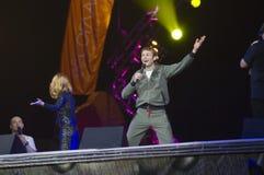 Nikolai Naumov (Kolya) no festival de esportes extremos   Fotografia de Stock Royalty Free
