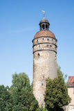 Nikolai Tower in Goerlitz Stock Photo