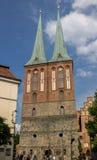 Nikolaikirche柏林德国 库存图片