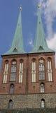 Nikolaikirche Берлин Германия Стоковые Фотографии RF