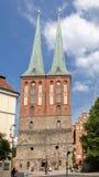 Nikolaikirche Берлин Германия Стоковая Фотография