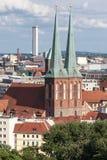 Nikolaikirche Берлин Германия Стоковая Фотография RF