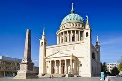 Nikolaikirche en Potsdam imagenes de archivo