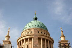 Nikolaikirche in Potsdam Stock Image