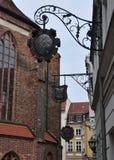 Nikolaiviertel - Berlijn Royalty-vrije Stock Afbeeldingen