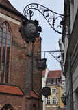Nikolaiviertel - Berlim Imagens de Stock Royalty Free