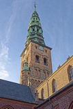 Nikolaj Church, Copenhague Photos stock