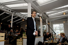 NIKOLAJ KOPPEL_VICE PRÄSIDENT OF VULTURE EVENTS stockfotografie