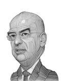 Nikolaos Dendias illustration sketch royalty free stock photography
