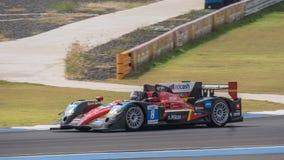 Nikolas Leutwiler av loppet Perfermance i den asiatLe Mans serien - Royaltyfri Bild