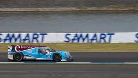 Nikolas Leutwiler av loppet Perfermance i den asiatLe Mans serien - Arkivfoton
