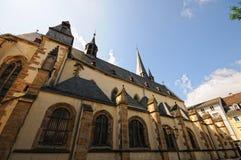 Nikolaus Church of Bad Kreuznach Germany. In Rhineland-Palatinate. Wide angle lense view Royalty Free Stock Photos