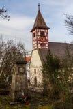 Nikolaus kościół, Hegnach, Waiblingen Obrazy Royalty Free