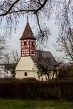 Nikolaus kościół, Hegnach, Waiblingen Zdjęcie Stock