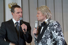 Nikolay Baskov and Igor Vernik Royalty Free Stock Photography