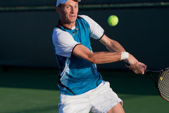 Nikolay Davydenko at the 2010 BNP Paribas Open Stock Photos