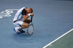 Nikolay DAVYDENKO (RUS) at BNP Masters 2009 Stock Image
