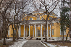 Nikolay Durasov's palace located in Lyublino district, Moscow, R Royalty Free Stock Photos
