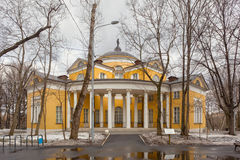 Nikolay Durasov's palace located in Lyublino, Moscow, Russia Royalty Free Stock Image