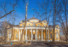 Nikolay Durasov's palace located in Lyublino Royalty Free Stock Image