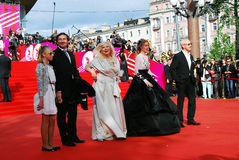 Nikolay Lebedev at XXXVI Moscow International Film Festival Royalty Free Stock Image