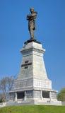 Nikolay Muraviev-Amursky纪念品在哈巴罗夫斯克,俄国 库存照片