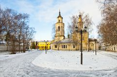 Nikolay temple in Vladimir Royalty Free Stock Photos